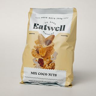 Mix frutos secos Eatwell Coco Nuts - 300 Gr.